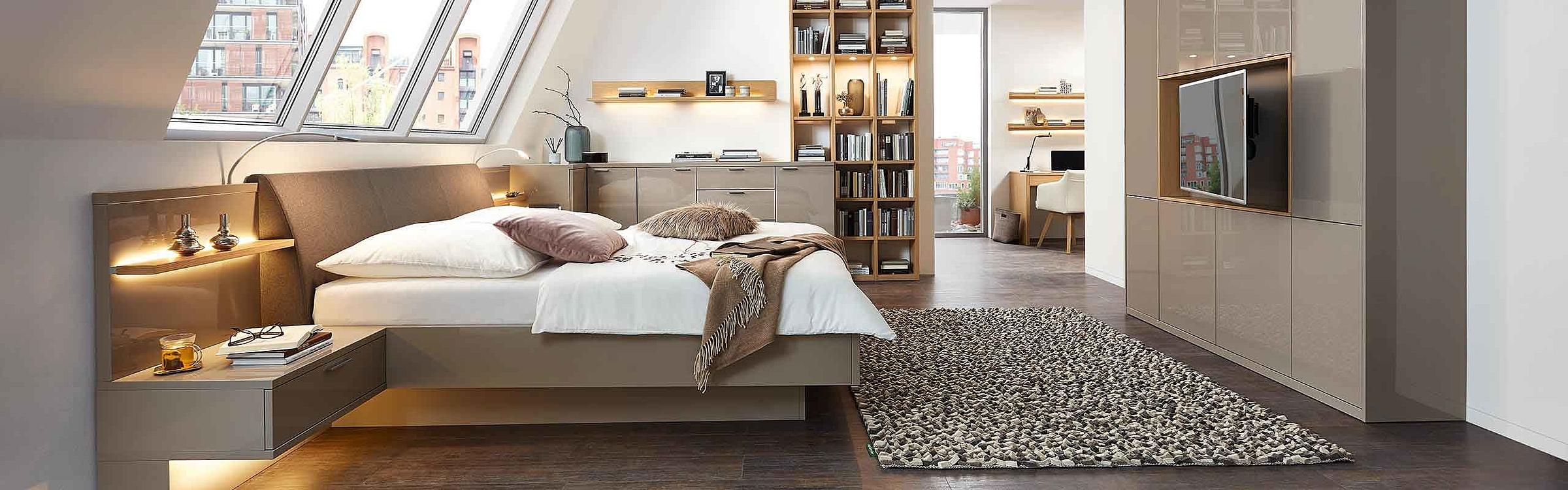 Bett Schlafzimmer Siena