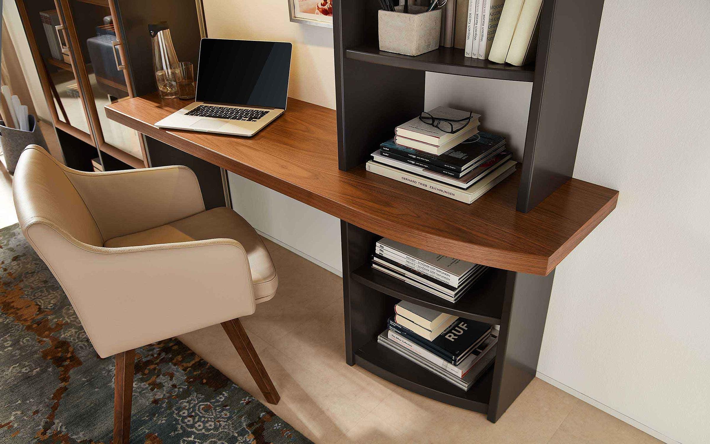 Schreibplatz Stuhl Leder Wohnzimmer Malta