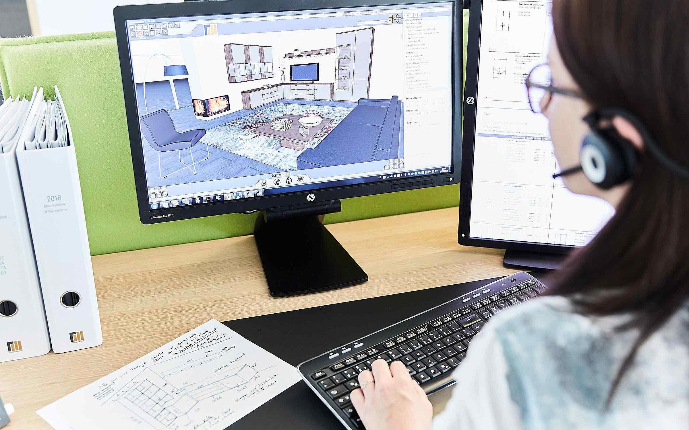RMW Planung 3D Furnplan Verkäufer