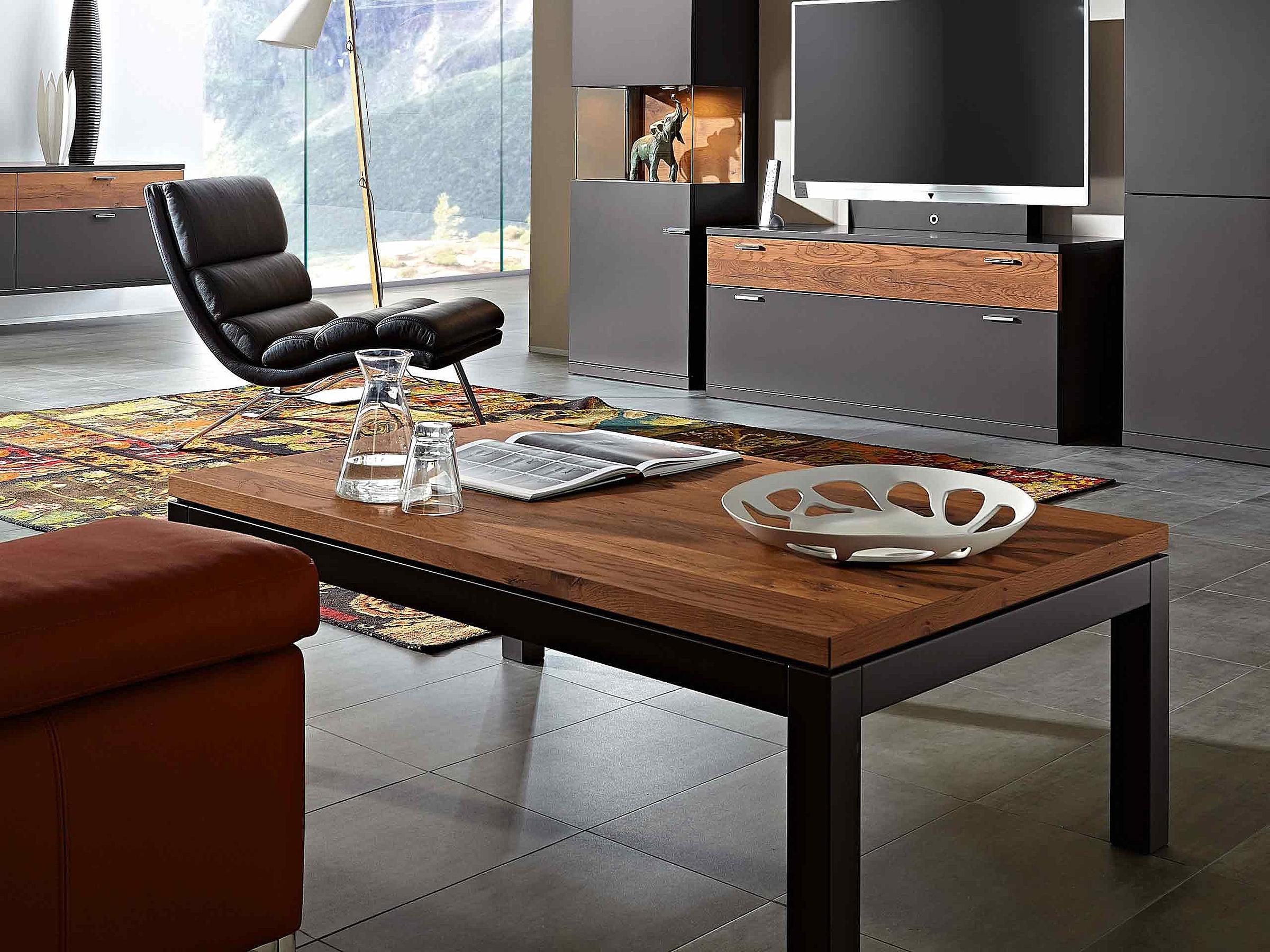 Couchtisch Wohnzimmer Siena Lavita Enjoy Lack graphit