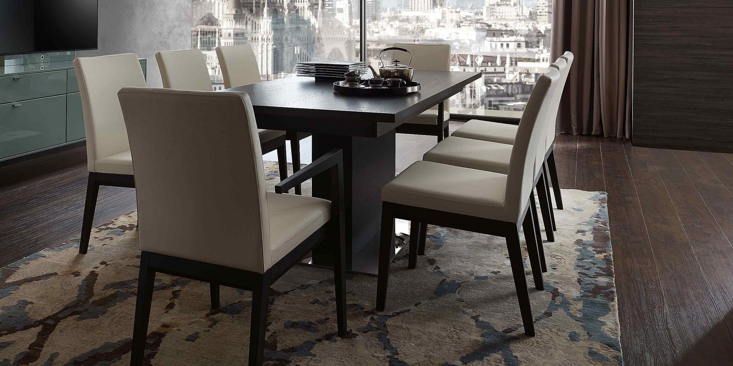 Stuhl R2 Leder Esstisch Wohnzimmer Deviso