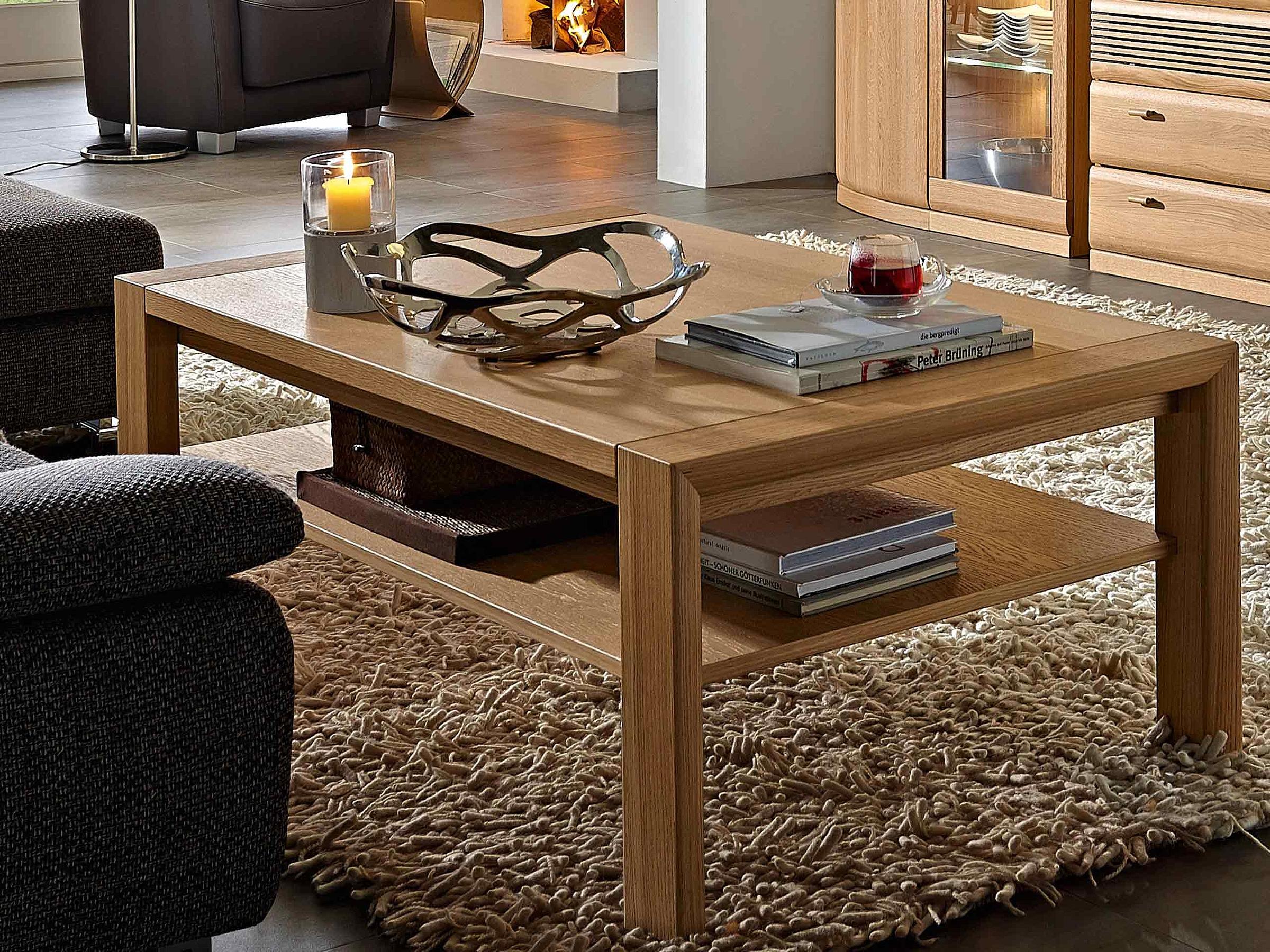 Couchtisch Wohnzimmer Opus Malta Holz Eiche sand