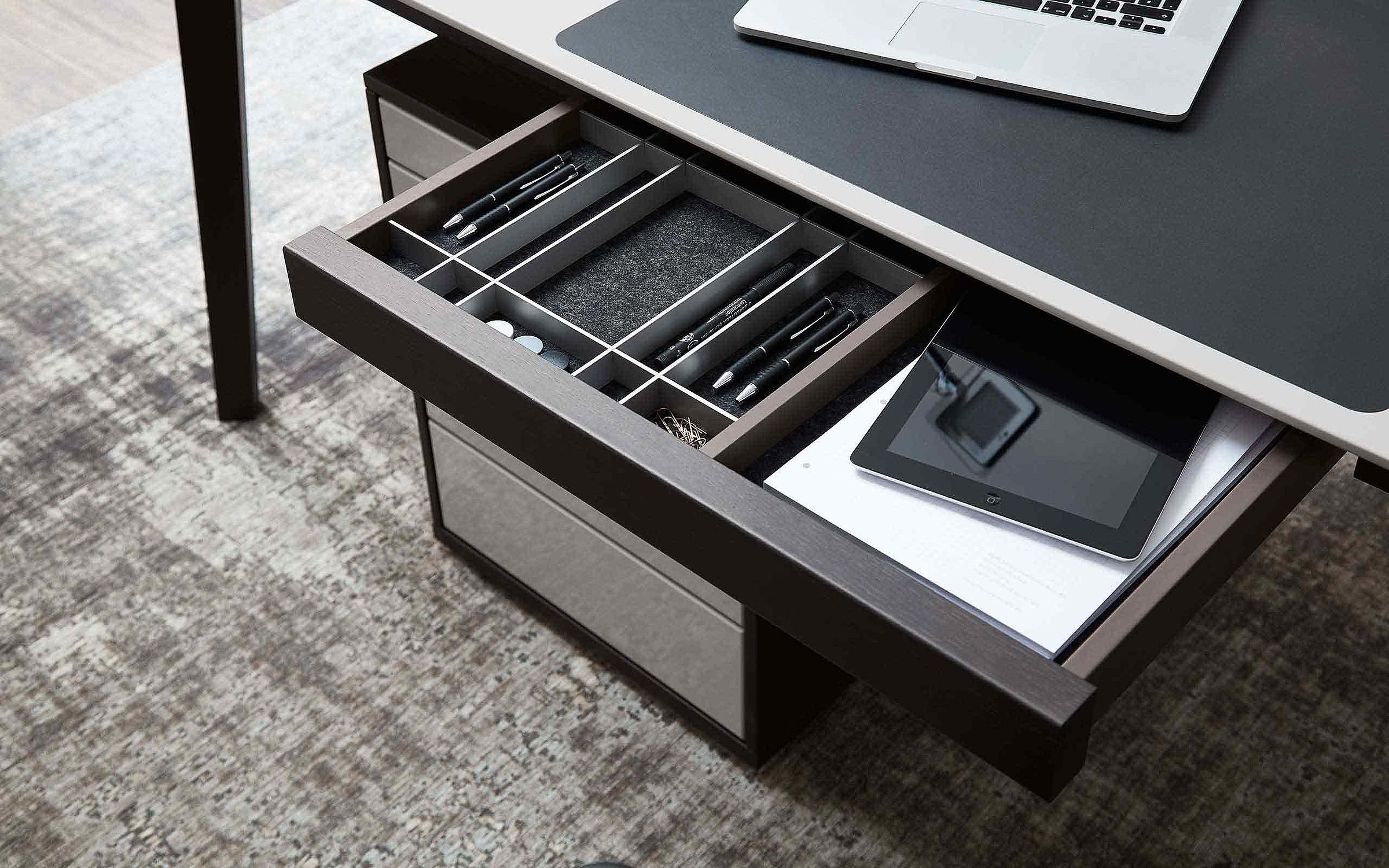 Schreibtisch Schublade Rollcontainer Büro Deviso