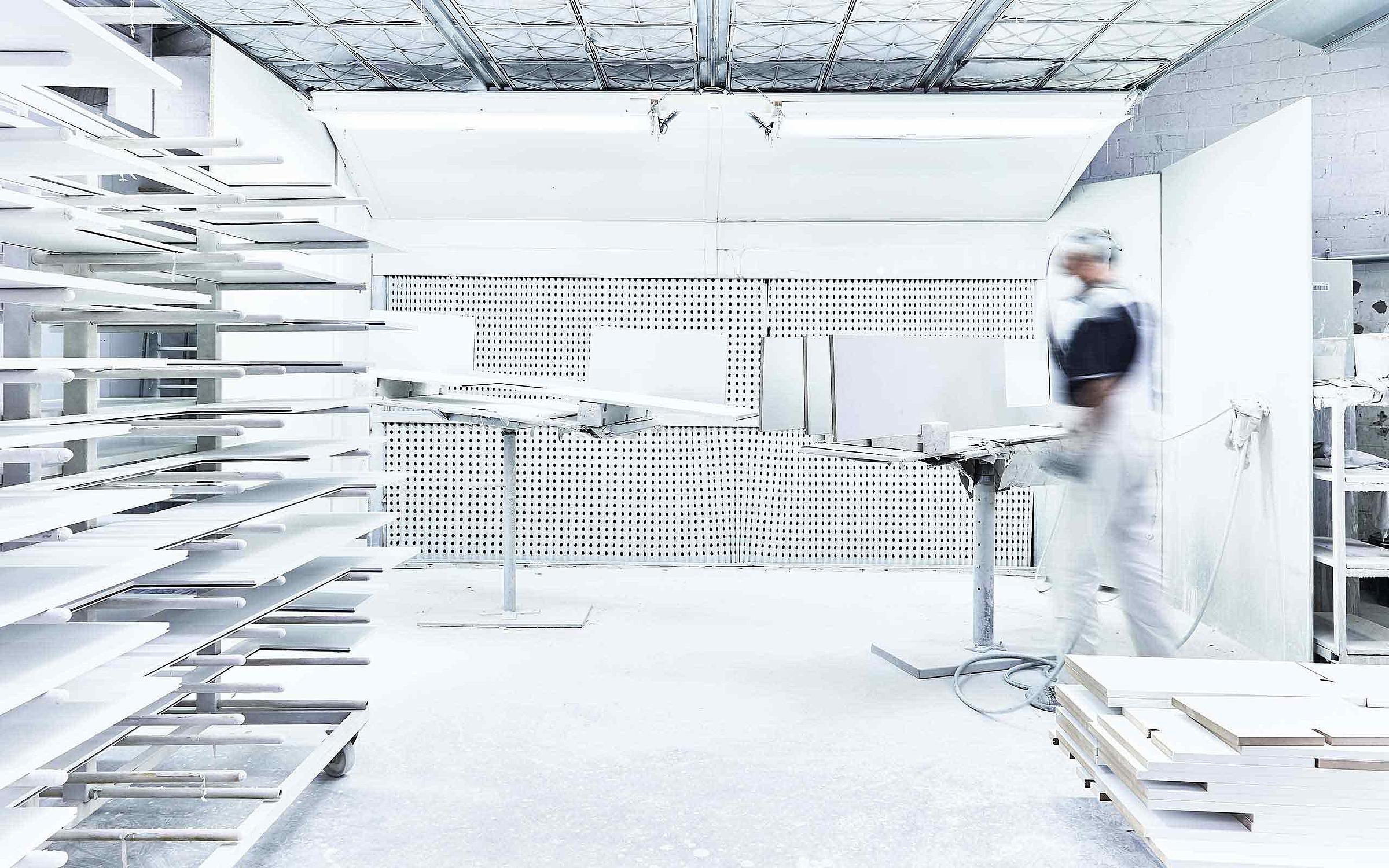 RMW Standort Rietberg Produktion Lack