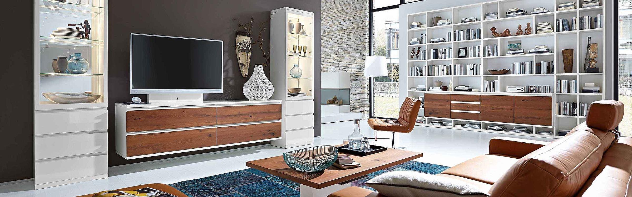 Wohnwand Couchtisch Wohnzimmer Enjoy