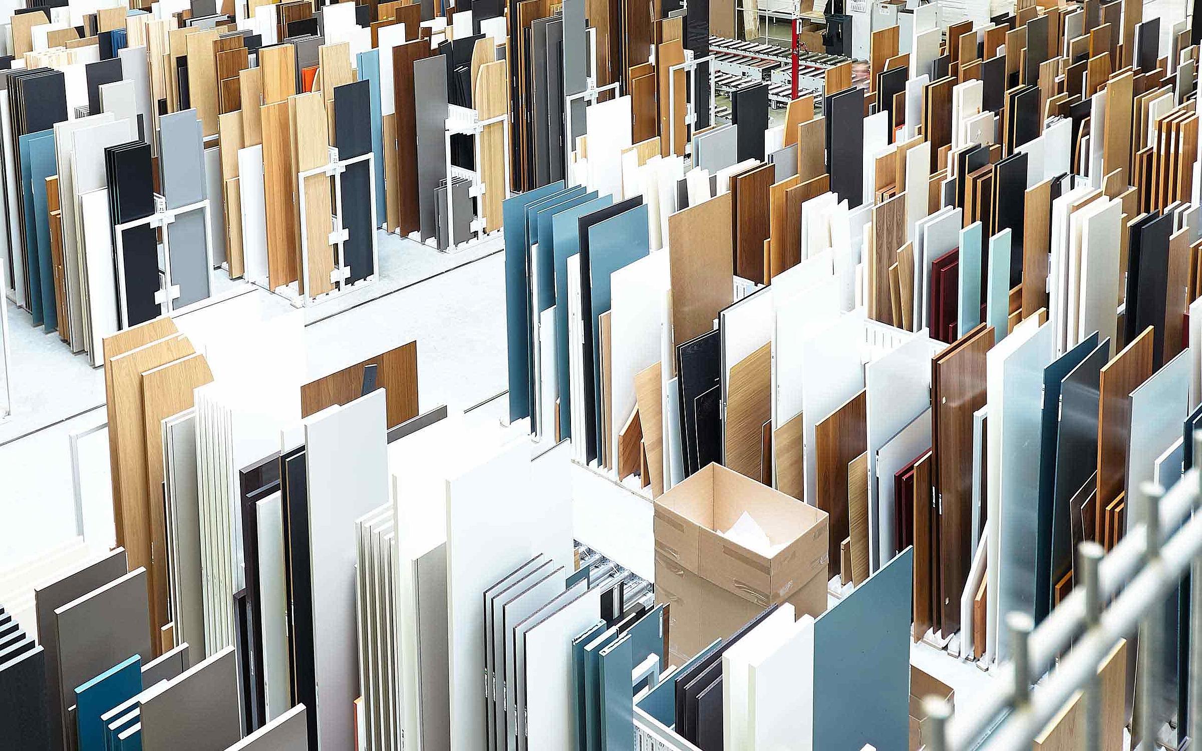 Produktion Möbel Lack Furnier Massiv