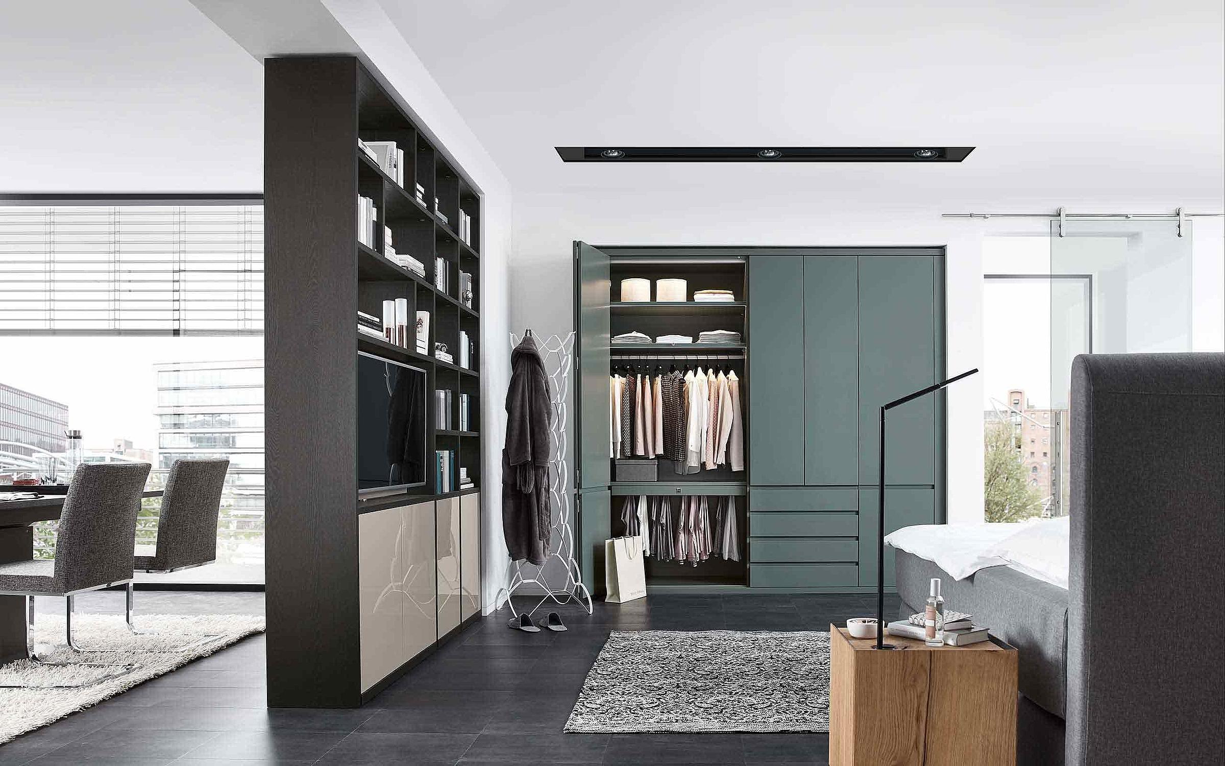 Kleiderschrank Raumteiler Schlafzimmer Enjoy