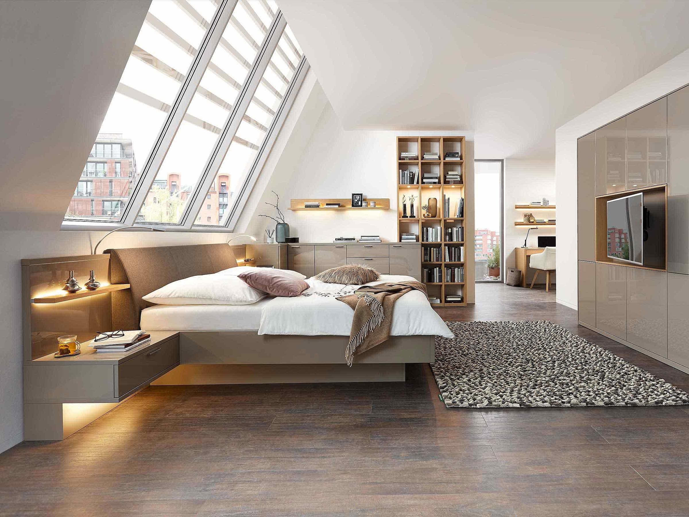 Bett Schlafzimmer Siena Eckkombination