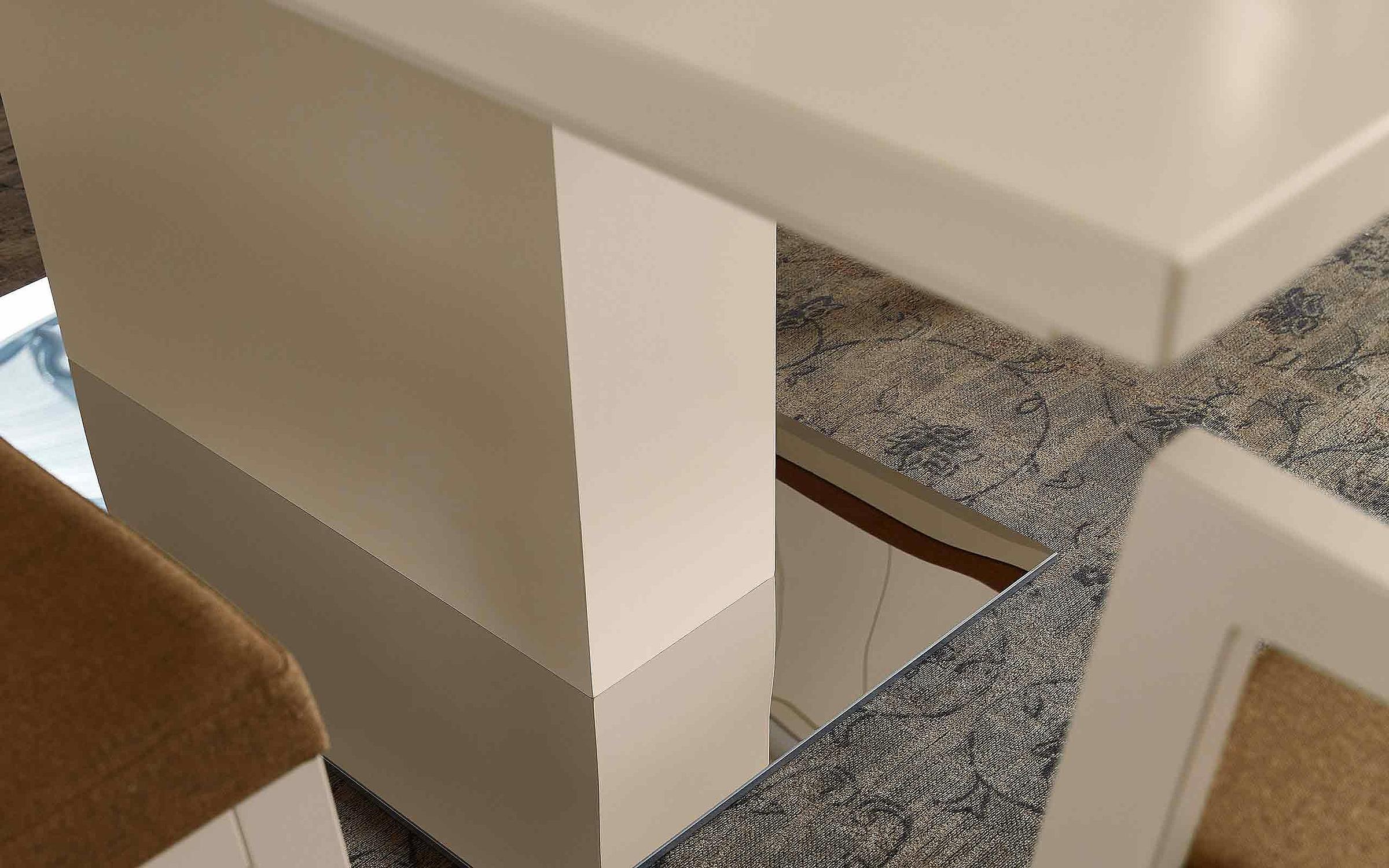 Esstisch Stuhl Esszimmer Siena Lack weiß