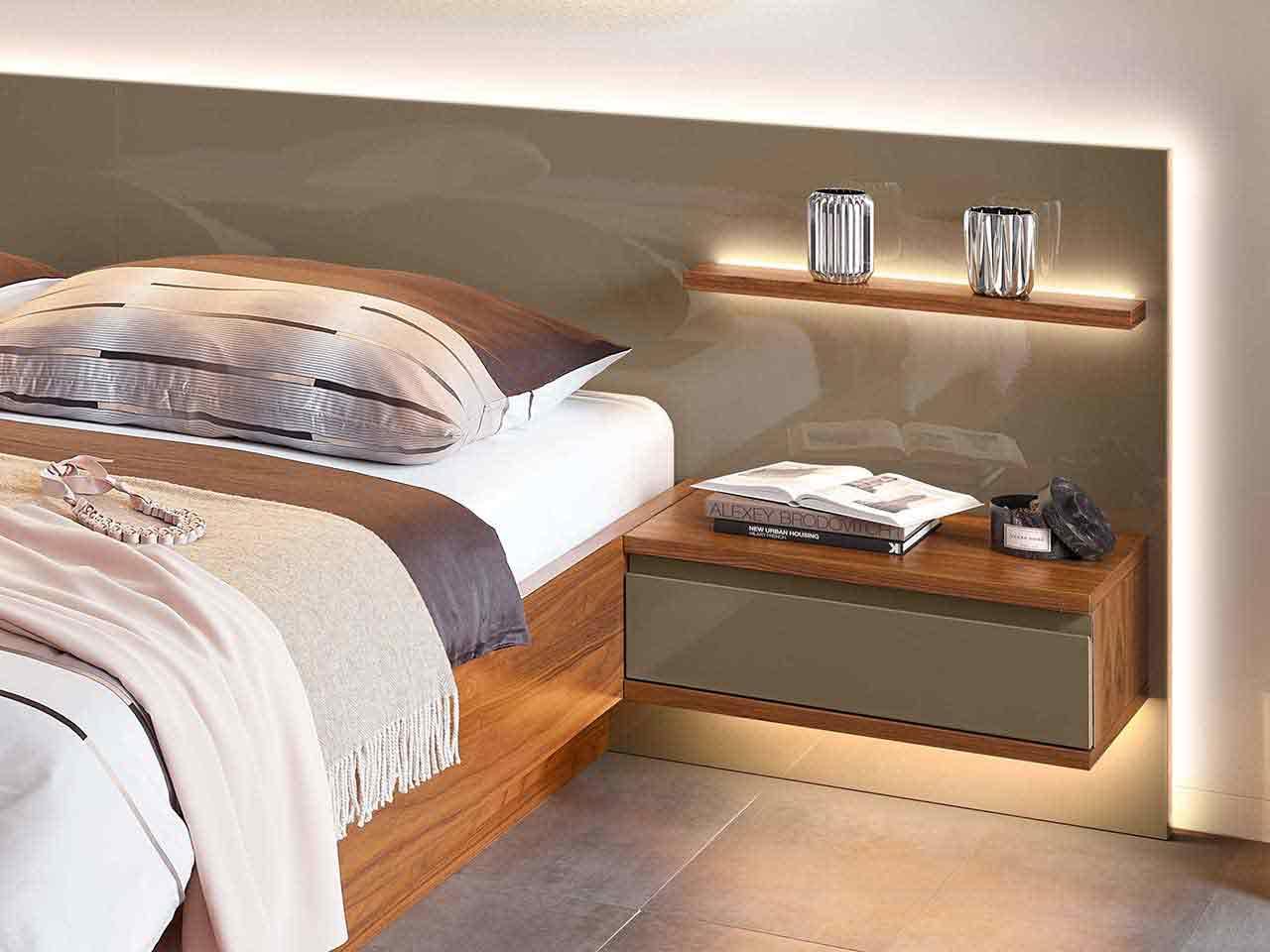 Bett Schlafzimmer Enjoy Lack terra