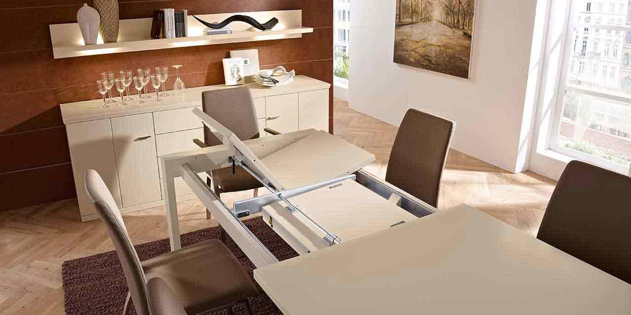 Sideboard Stuhl Kunstleder Esstisch Auszug Esszimmer Dacapo